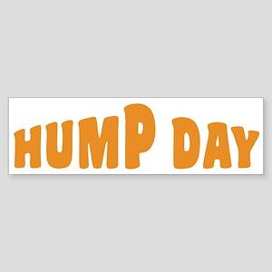 Hump Day [text] Sticker (Bumper)